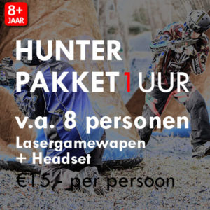 Lasergame Hunter Pakket