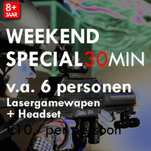 Lasergame Weekend Special